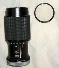 VIVITAR 80-200mm F4.5 Auto Zoom Lens with Lens filter