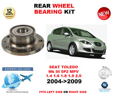 FOR SEAT TOLEDO REAR WHEEL BEARING 2004>2009 Mk III 5P2 MPV LEFT or RIGHT SIDE