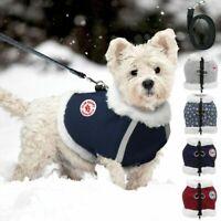 Winter Dog Warm Fleece Clothes Pet Cat Reflective Vest Puppy Coat Jacket Apparel