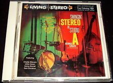 GEORGE SIRAVO..SWINGING STEREO IN STUDIO A..CD EX LIVING STEREO