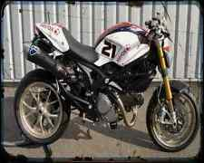 Ducati Monster 1100S Bayliss Replica 1 A4 Photo Print Motorbike Vintage Aged