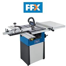 """Scheppach 5901309903 Precisa TS82 230V 8"""" Table Saw with Sliding Table Carriage"""