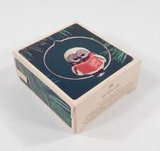 Hallmark 1983 Christmas Ornament QX411-7 Caroling Owl - MIB