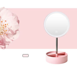 Desk LED Mirror Makeup Multi-function 360° Table Lamp Freely Adjustable +1 ^