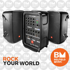 JBL EON 208P Portable PA System 2x8'' Speakers Powered 8-Ch Mixer