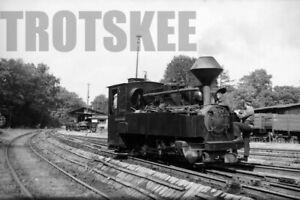 Negative DR East Germany Railways Steam Loco 99 3314 Bad Muskau 1973 Deutsche