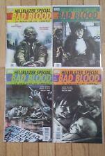 VERTIGO COMICS HELLBLAZER SPECIAL BAD BLOOD  #1 2 3 4 COMPLETE MINI SERIES SET