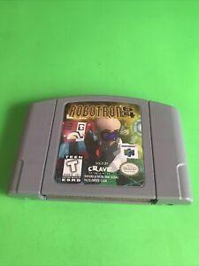 ROBOTRON 64 Nintendo 64, 1998) Tested Works