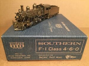 HO Scale Southern SRR Brass F-1, 4-6-0 Ten Wheeler, New by Pacific Fast Mail