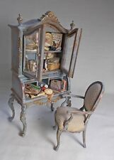Dolls house miniature Nursery or Attic unit toy Cabinet ARTISAN TWYLLA CHARLES
