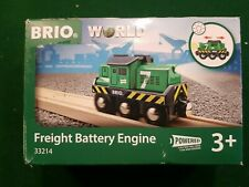BRIO 33214 Freight Battery Engine Railway