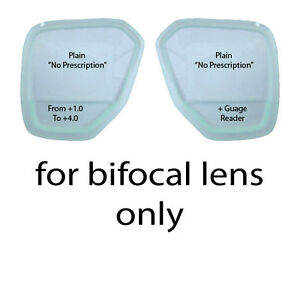 ScubaPro Solara, Tusa Liberator, Magnum Dive Mask Bifocal Gauge Reader Lenses
