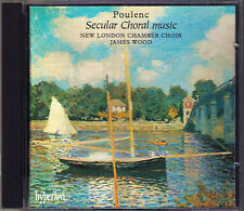 Poulenc pimco chants joyeux FRANCAISES figure humaine liberté James wood CD