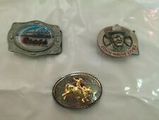 Boucle de ceinture John Wayne & Western