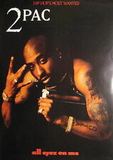 2 PAC / 2PAC TUPAC SHAKUR POSTER ALL EYEZ ON ME
