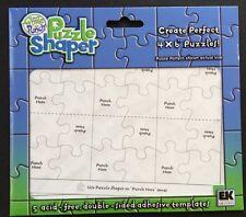 EK Success Puzzle Shaper Templates 5 Count *New*