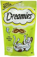 Dreamies Cat Treats with Tuna, 60 g - Pack of 8