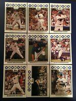 2008 Topps NEW YORK YANKEES Complete Team Set Series 1 & 2 MANTLE 23 Cards LOOK