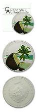 Palau Coconut Scent of Paradise Piña Colada Coin $5 2009 Proof Silver Crown COA