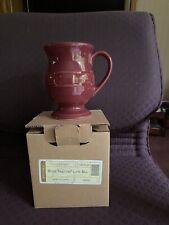 Longaberger Pottery Paprika Latte Mug