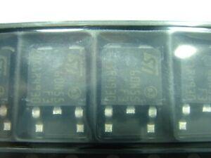 10x  STD 60N55 F3   Transistor NFET 80A 55V 110W  SMD Dpack TO252 #19-111