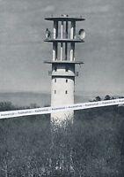 Heilbronn - Fernmeldeturm - Bundespost- um 1955 - selten      I 18-9