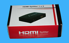 Maplin N48QK HDMI 2 Way Splitter De Alta Calidad 1X2 HDMI Splitter RRP £ 44.99 Reino Unido