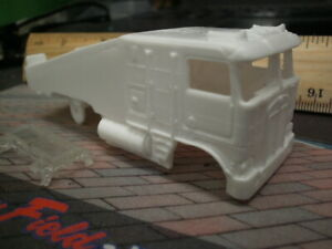 Resin HO SLOT CAR scale Kenworth K100 ramp truck 2021 new tooling tyco US1