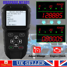 OBDPROG MT401 Car Odometer Adjustment OBD2 Scanner Mileage Correction Reset Tool