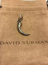 David Yurman .925 Sterling Silver Frontier Eagle Talon Amulet Pendant