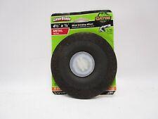 Gator Metal Grinding Wheel 4 1/2''x 1/4'' New 7/8 Arbor