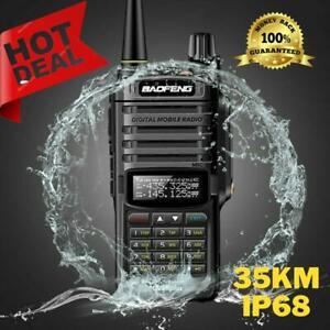2021 Uv-9r Plus Waterproof Ip68 Walkie Talki 30-50 Km Portable Two Way Radio New