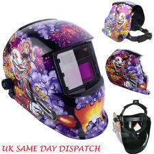 JOKER Design Auto Darkening Welding Helmet Mask Welders Solar Power Grinding UK