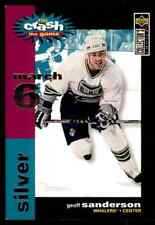 1995-96 Collector's Choice Crash the Game Silver  Geoff Sanderson #NNO