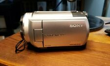 Sony Hdd Camcorder Dcr-Sr40 20X Night Shot No Charger/Accessories Tested Working