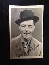 DUGGIE WAKEFIELD - POPULAR COMEDY ENTERTAINER - SIGNED VINTAGE PHOTO
