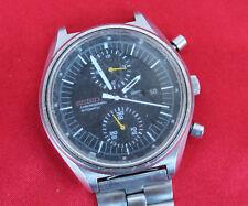 Seiko Jumbo cronografo automatico KA. 6138b VINTAGE OROLOGIO UOMO 40 mm