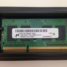 Micron 1GB PC3-10600 DDR3-1333MHz CL9 204-Pin SO-DIMM Memory  P/N# MT4JSF12864HZ