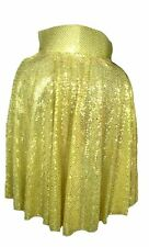 ADULTO ROCK N ROLL 50s 60s ORO IL RE CAPE Paillettes costume UK