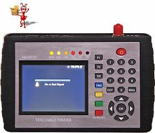 "Professional 3.5"" Digital TV Signal Tester & Cable Finder"