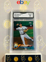 2018 Topps Chrome Brian Anderson #22 Rookie - 10 GEM MINT GMA Graded Card
