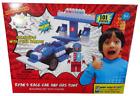 NEW Ryan's World Race Car with Gas Pump Building Set & Figurine 101pcs Ages 5+