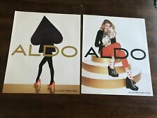 4PG PRINT Ad/SPREAD FROM 2011 FOR ALDO SHOES MODEL Lily Donaldson