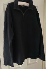 "STONE ISLAND BLACK WOOL MIX JUMPER XXL 2XL 22"" PIT TO PIT VINTAGE 90's"