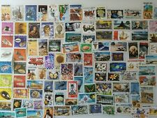 100 Different Djibouti Stamp Collection