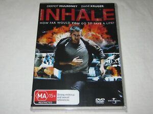 Inhale - Diane Kruger - Brand New & Sealed - Region 4 - DVD