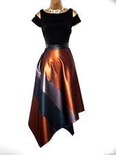 Coast Metallic Stripe Dress size 12