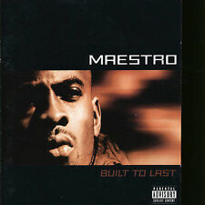 Built To Last 1998 by Maestro *NO CASE DISC ONLY*