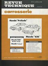 (8B)REVUE TECHNIQUE CARROSSERIE HONDA PRÉLUDE / MAZDA 626