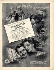 1944 Movie RARE PRINT AD The White Cliffs of Dover w/ Irene Dunne Alan Marshal